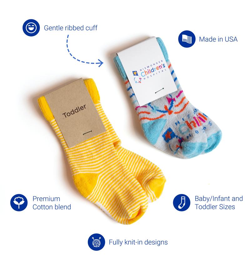 Custom Baby and Toddler Socks