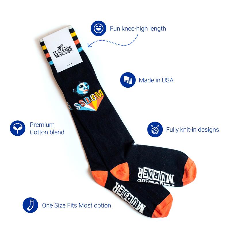 Custom Woven Knee Socks