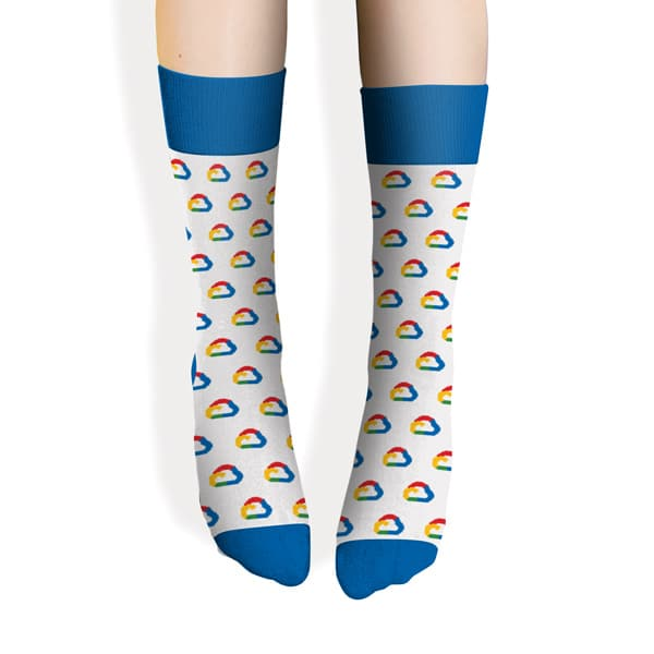 Sock - Electric Blue M