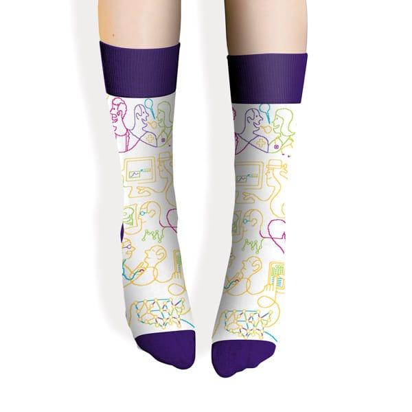 Sock - Purple