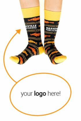 Custom Logo Socks