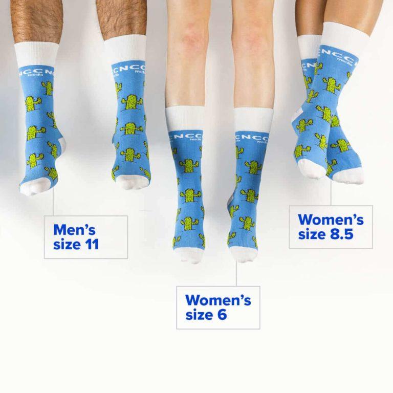 Custom Sock Sizing