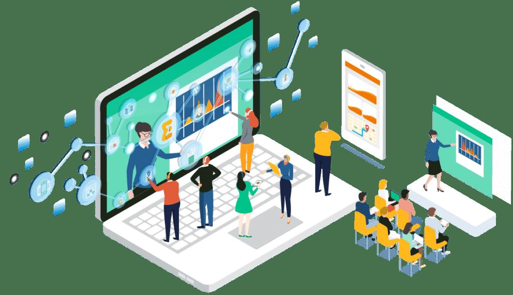 Virtual event - Event management