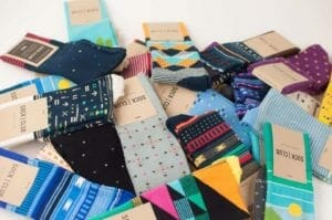 photo of sock club donations