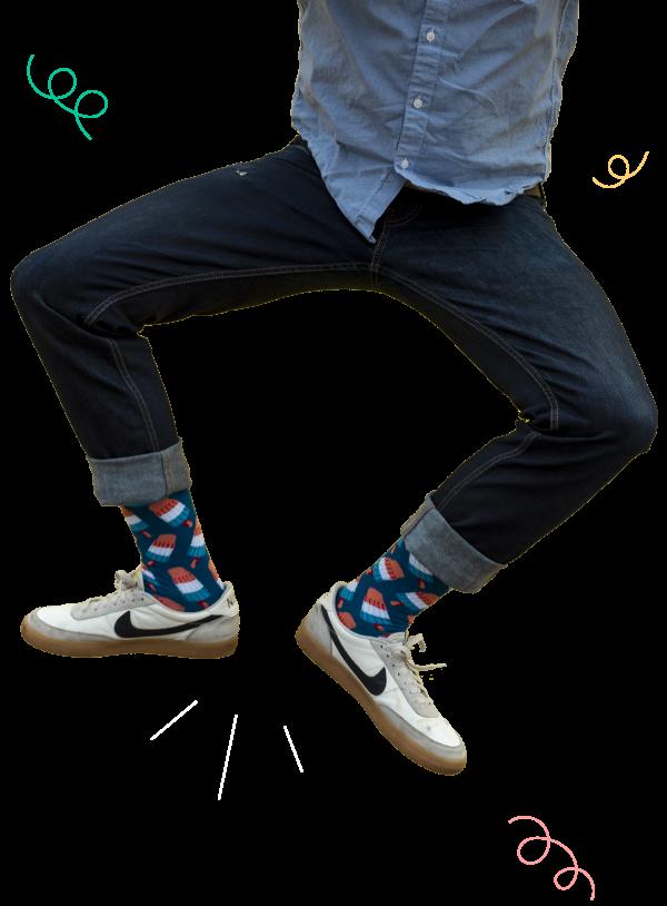 Socks Jumping