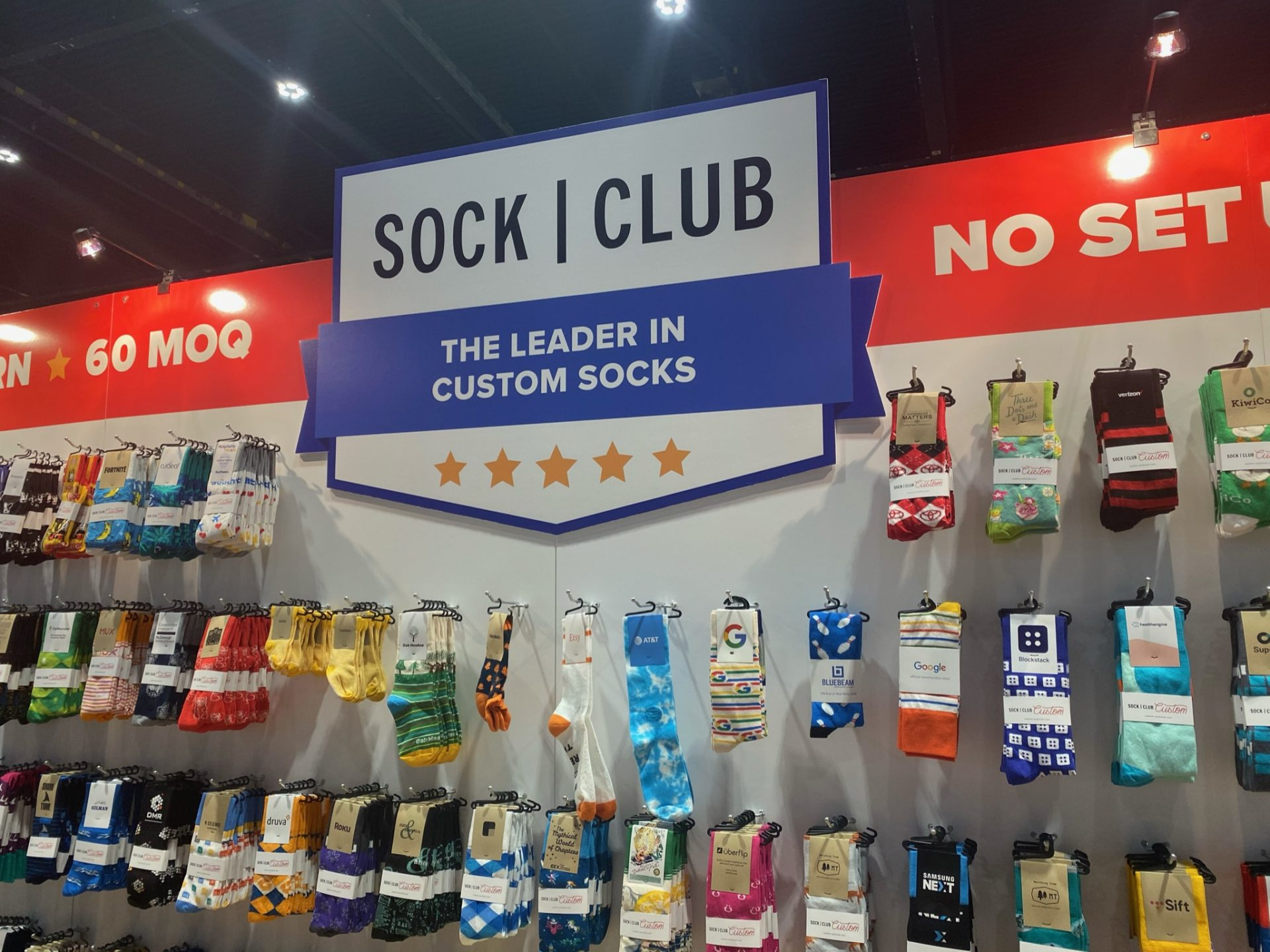 Sock Club Booth ASI Chicago
